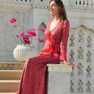 Rita Rani wrap dress - S
