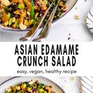 Asian Inspired Edamame Peanut Crunch Salad   Eat With Clarity