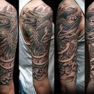 50 Japanese Phoenix Tattoo Designs For Men - Mythical Ink Ideas