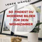 Entdecke schöne moderne Bilder für Wohnzimmer