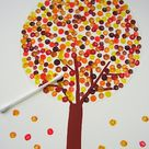Fall Tree Crafts   Happy Home Fairy