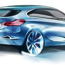 BMW Concept Active Tourer, Design Sketch 09/2012