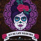 Dia De Los Muertos: Ein Malbuch für Erwachsene
