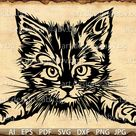 Vector CAT, AI, PNG, eps, pdf, svg, dxf, jpg Download files, Digital, graphical, discount coupons