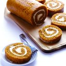 Pumpkin Roll Cake