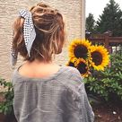 ▷ 1001+ inspirierende Ideen für coole Bandana Frisuren | Scarf hairstyles, Bandana hairstyles...