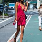 The best model-off-duty street style looks from the Victoria's Secret casting