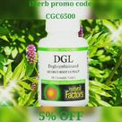 Natural Factors, DGL, Licorice Root Extract Glycyrrhizinate, 90 Chewable Tablets