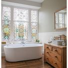 stained glass windows in home