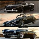 Pretty Classic cars/The BMW 507 convertible Spider Roadster