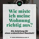 Wie miste ich meine Wohnung richtig aus? Die Checkliste für mehr Ordnung! - Lifestyle Blog aus Österreich