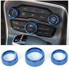 Voodonala for Challenger Charger Air Conditioner Switch CD Button Knob for Dodge Challenger Charger 2015-2019… - Blue