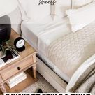 3 WAYS TO STYLE A QUILT