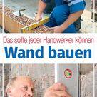 Wand bauen   selbst.de