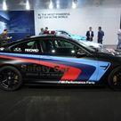 GENEVA AUTOSALON 2015   BMW M4 COUPE F82 SAFETY CAR MOTO GP