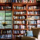 Starting on the Library's Built-in Bookshelves - Making it Lovely