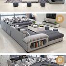 1189 0us New Arrival Modern Design U Shaped Sectional 7 Seater Fabric Corner Sofa Living Room Sets Aliexpress