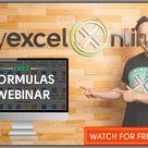 Free Excel Formulas & Functions Masterclass