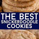 BEST Snickerdoodle Cookies Recipe - Crazy for Crust