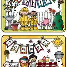 Jahreszeiten _ Bildkarten groß