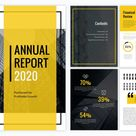 30+ Annual Report Design Templates & Awesome Examples