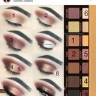 Found another step by step, were they are using Anastasia Beverly Hills Soft Glam Palette