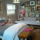 Bedroom Gallery Walls