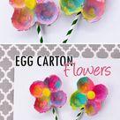 Egg Carton Flowers   I Heart Arts n Crafts