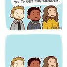 Well ... let me guess || Avengers / Aquaman || Black Panther Captain Marvel Iron-Man Thor || by 澈(Che) @cyanwhisky