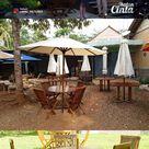 Kursi Meja Taman Meja Payung Kursi Lipat | Rajati Jepara