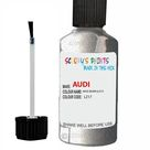 Audi A3 Avus Silver Code Lz17 Touch Up Paint Scratch Stone Chip Repair