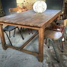 Table de ferme, table monastère : tout sur la table rustique - LILM
