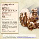 Cinnamon Squierrel (DnD Creature)