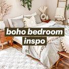 boho bedroom inspo