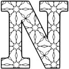 Alphabet Coloring Pages (Printable Number and Letter Stencils)
