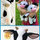 Amigurumi Kuh häkeln – kostenlose & einfache Anleitung