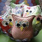 Owl Pillow Pattern