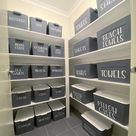 People can't get past one detail in this woman's VERY organised closet