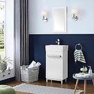 Home Decorators Collection Meuble-lavabo de salle de bains avec lavabo blanc Maelynn, 18 p... | Home Depot Canada