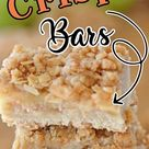 Apple Crisp Bars with Crumb topping