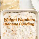 Weight Watchers Banana Pudding