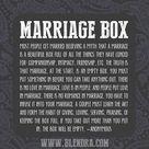 Marriage Box