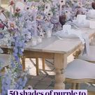 50 shades of purple to brighten your day !