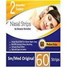 Nasal Strips Medium (x 60 Pack) Nose Strip to Stop Snoring, Snoring Strips to Help You Breathe Through Your Nose, Anti Snore Nasal Strips for Snoring by Sleepeze Remedies