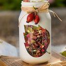 Upcycling-Deko: Windlichter aus Marmeladengläsern selber machen