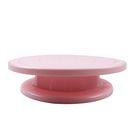 Kunststoff-Kuchen-Plattenspieler rutschfeste Unterseite rotierenden drehenden Dekorieren Stand Plattform fuer 10-Zoll-Kuchenform Sugarcraft Werkzeuge Backen Lieferanten