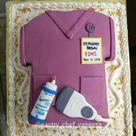 Diagnostic Medical Sonographer Graduation Cake