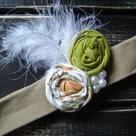 Rosette Headband