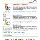 Unique Newsletter Templates Free Download
