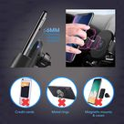 White Maple Qi Wireless Car Charger Phone Mount